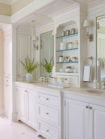 эклектичная ванная комната