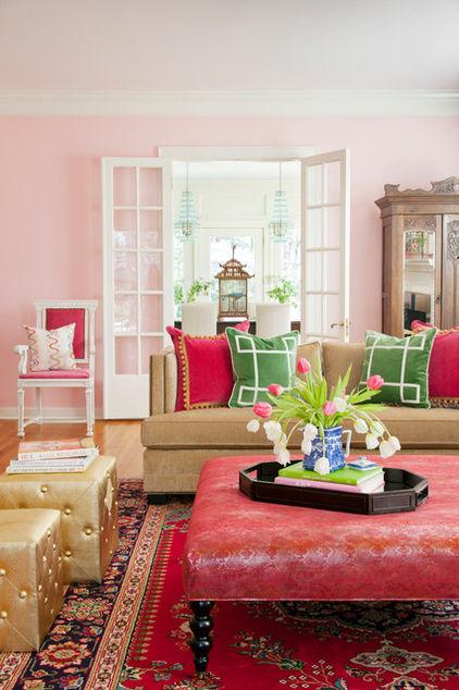 Декоративные подушки в интерьере фото 1