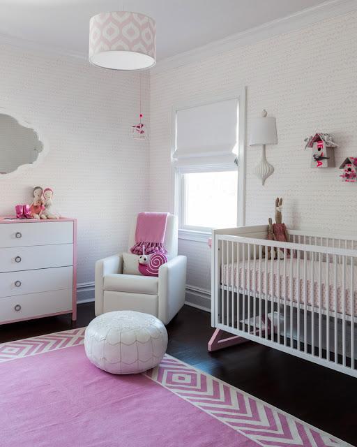интерьер детской для новорожденного