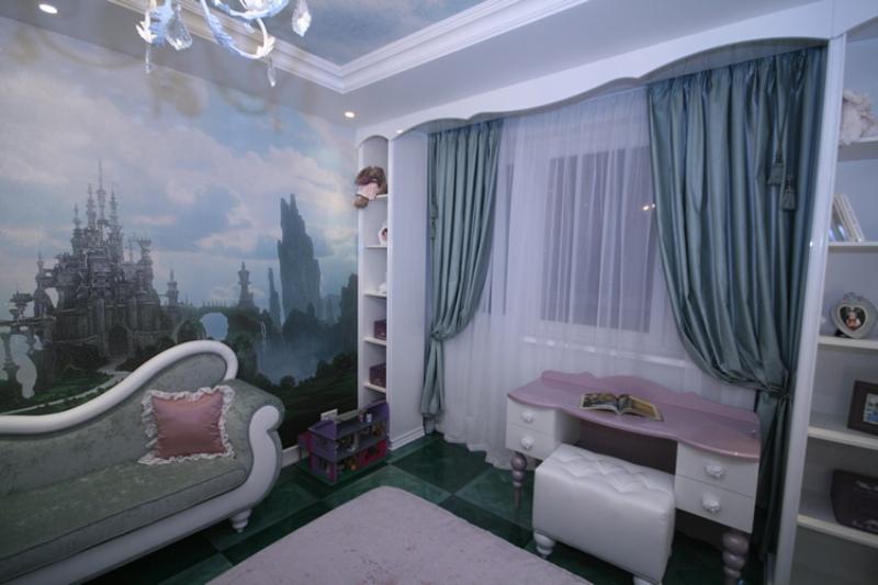 Дизайн интерьера детской спальни фото 3