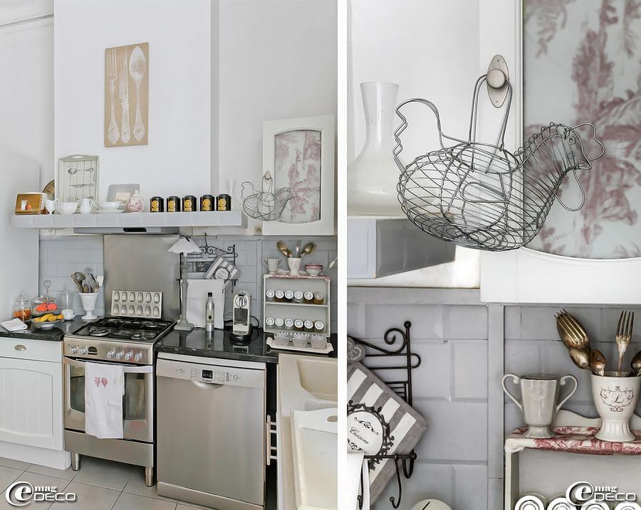 кухня во французской квартире