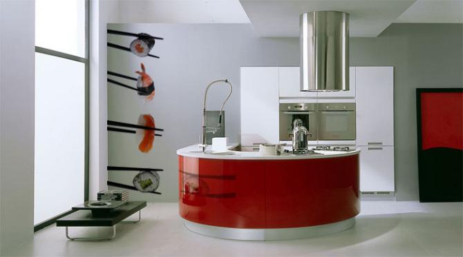 фотообои на кухне 8