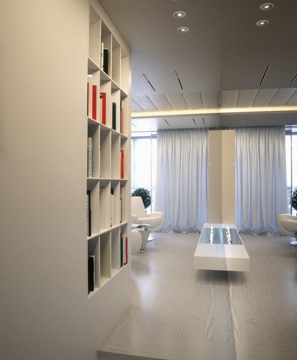 Квартира в белом