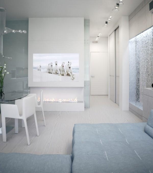 Квартира в белом - стены