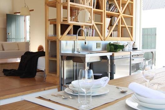 Перегородка между кухней и гостиной фото 2