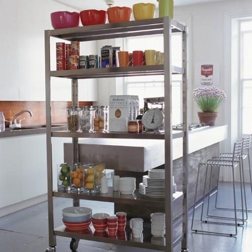 Перегородка между кухней и гостиной фото 6