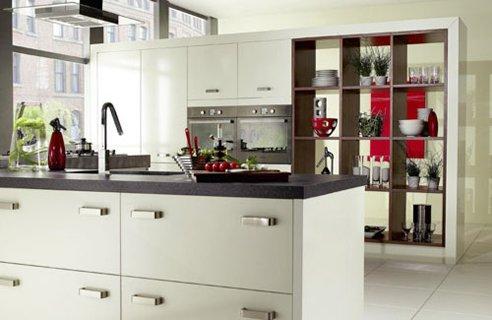 Перегородка между кухней и гостиной фото 1