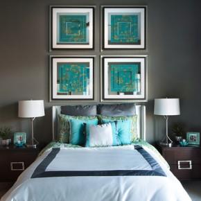 Красивая спальня – фото 225