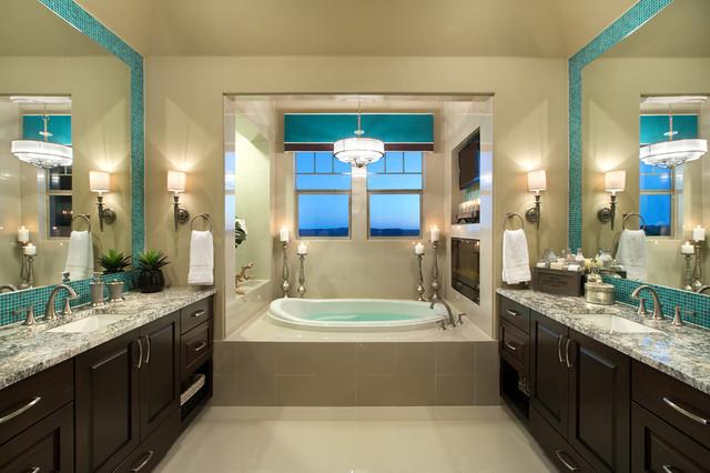 Цвет в интерьере фото ванной