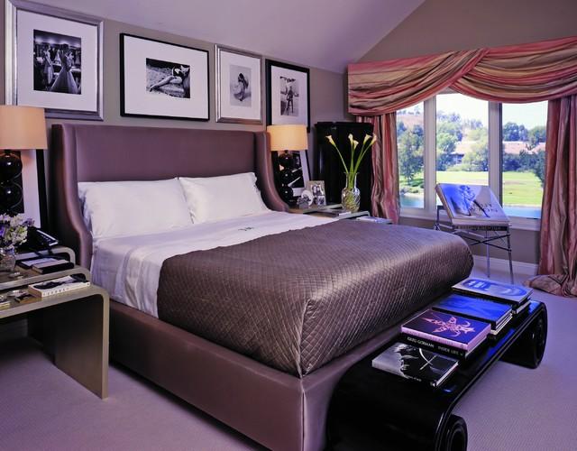 интерьер в стиле Арт-деко - спальня