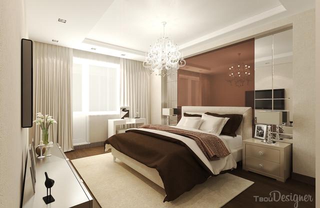 интерьер в стиле Арт-деко - спальная комната