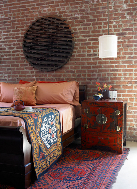 арабский интерьер - декор спальни