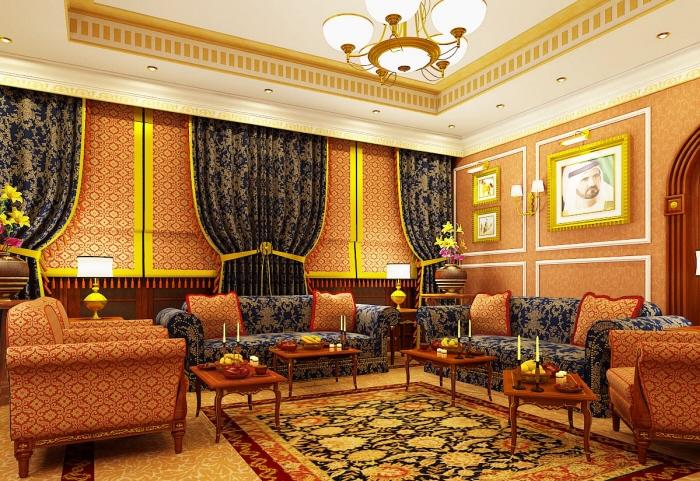 арабский интерьер - мебель