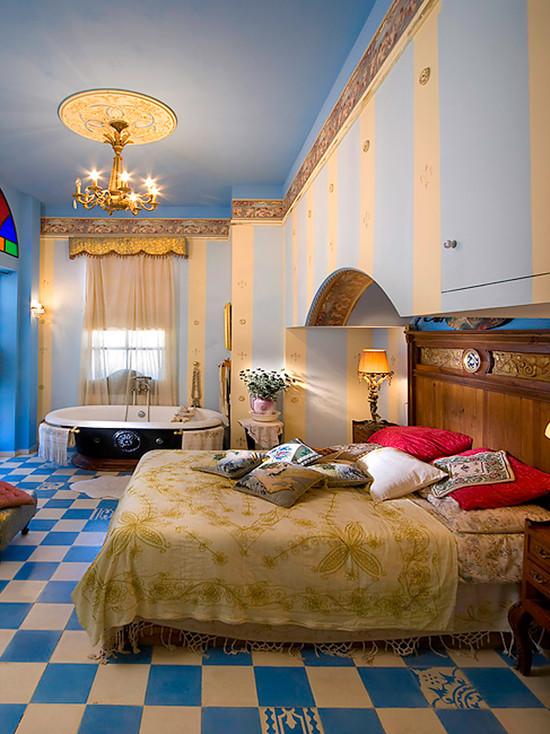 спальная комната в арабском стиле