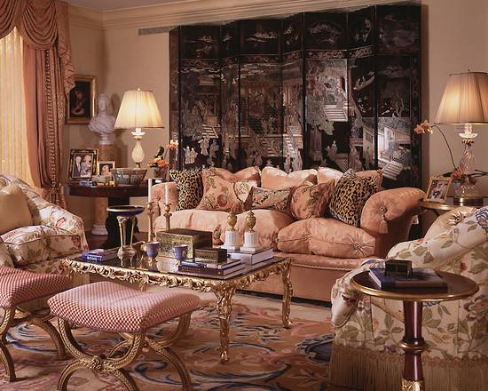 интерьер гостиной комнаты в арабском стиле