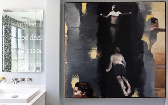 фото мозаики в ванной комнате