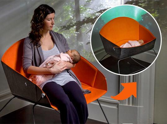 Мебель трансформер - детская кроватка