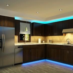 Красивые кухни – фото 231