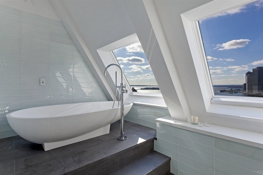 Современный интерьер - ванная комната