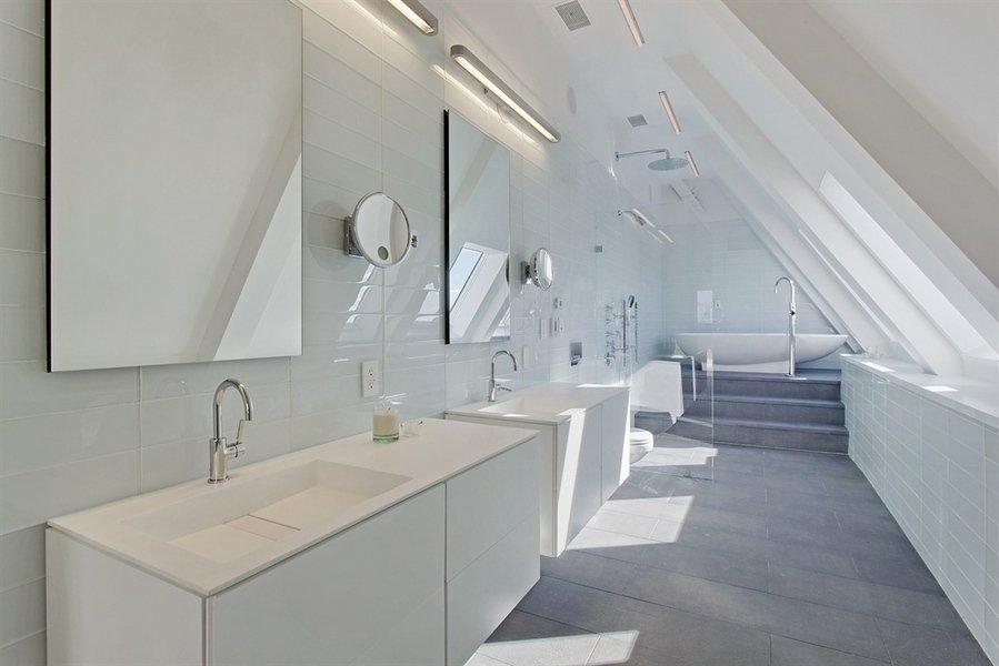 Современный интерьер - фото ванной комнаты