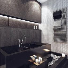 Дизайн ванной – фото 129