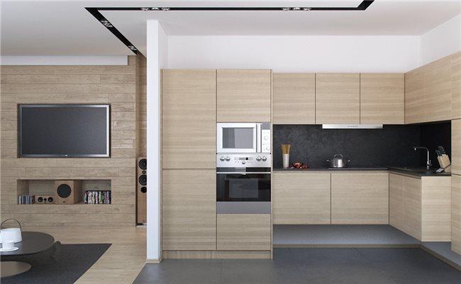 Современная квартира - кухня