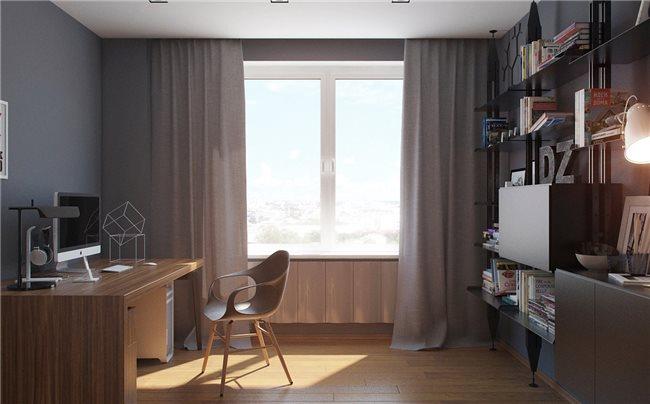 Современная квартира - кабинет