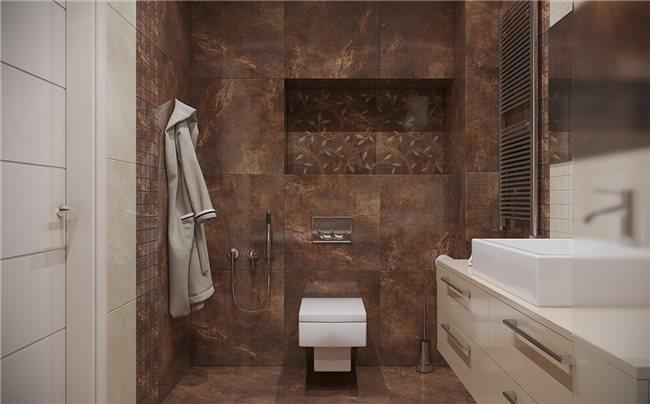 Современная квартира - ванная