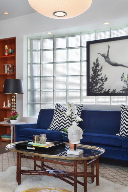 стеклоблоки в интерьере фото 5