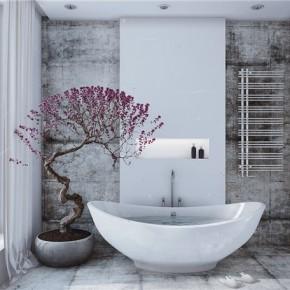 Оформление ванной – фото 117