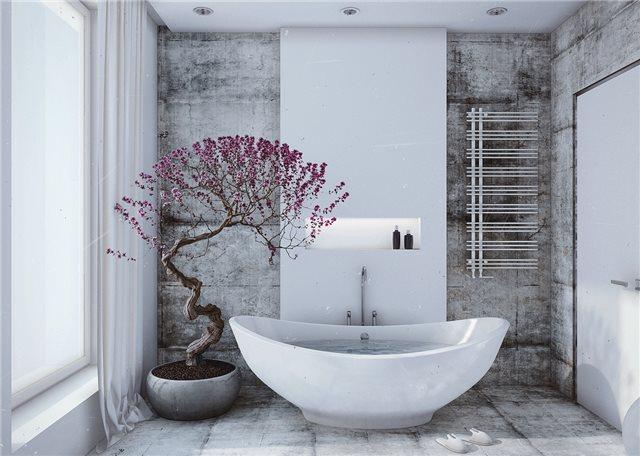 стильный дом - ванная комната