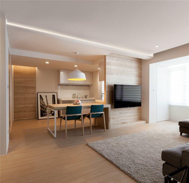 Фото квартиры - кухня и столовая