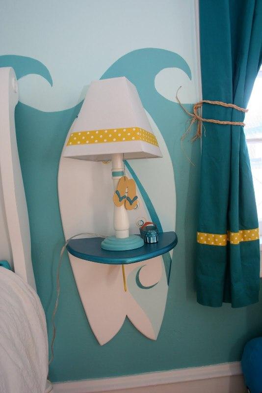 шторы в детской для девочки