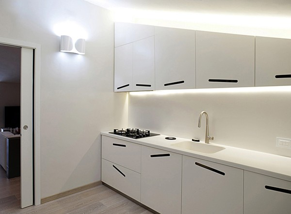 Светлая квартира - кухня
