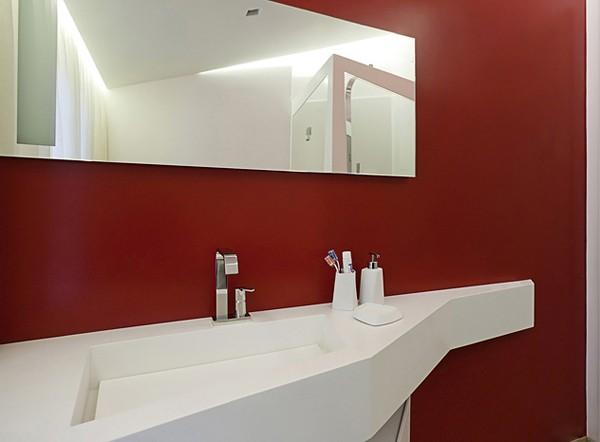 цвет стены в ванной