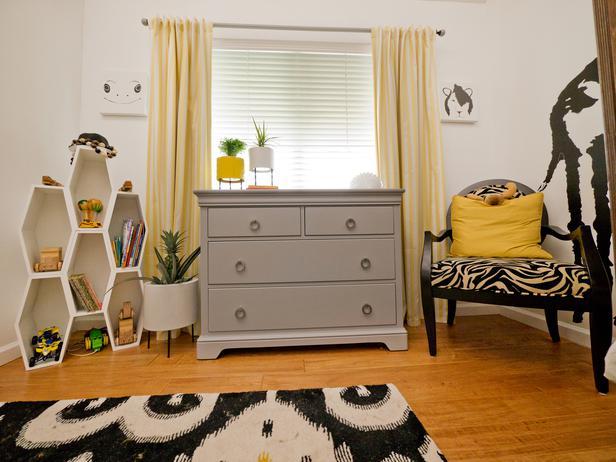 мебель в детской комнате для двоих детей