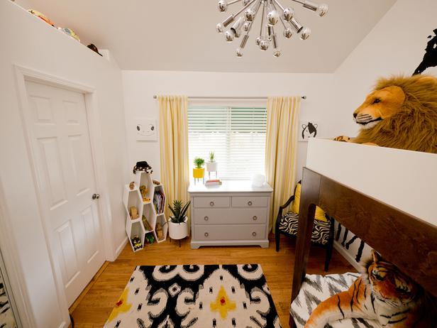 Спальная комната для двоих детей
