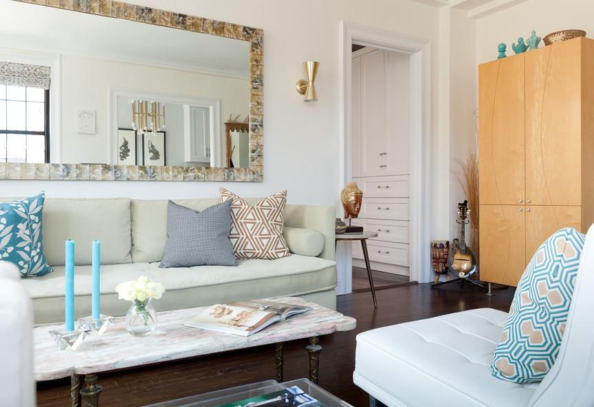 дизайн маленьких квартир - гостиная
