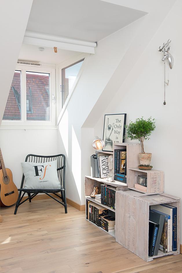 уют в квартире - уголок для чтения