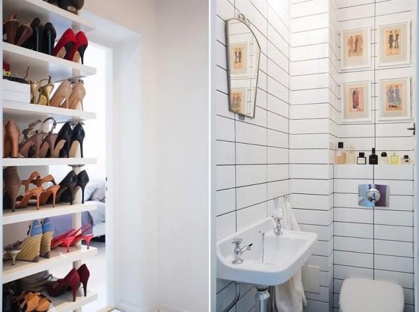 обувной шкаф в квартире