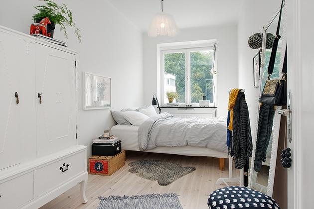 фото квартиры: небольшая спальня