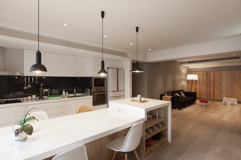 Планировка квартиры - кухня и гостиная