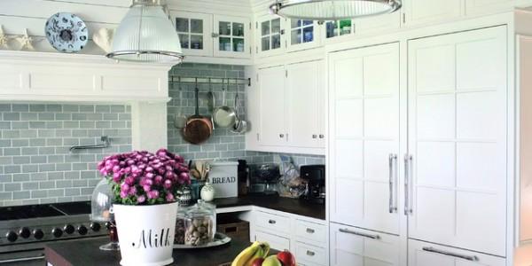 Белые кухни-10
