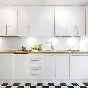 Планировка кухни – фото 885