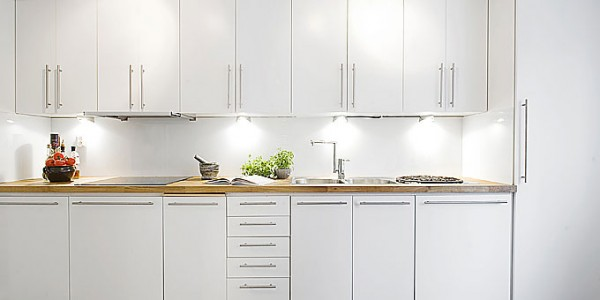 Белые кухни-3