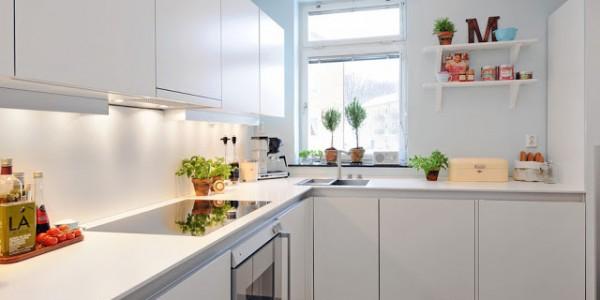 Белые кухни-9