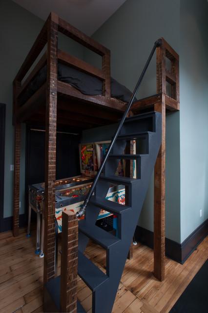 Детские кровати чердаки с игровой зоной