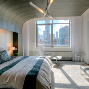 Отделка спальни – фото 798
