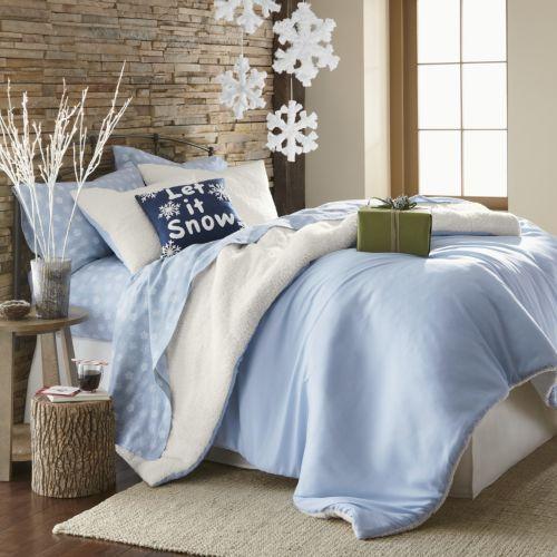 Украшаем дом и спальню к Новому Году снежинками
