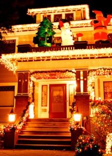 фото-украшаем дом к новому году (78)